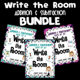 Write the Room Math Centers: Addition & Subtraction Facts to 5, 10, & 20 BUNDLE