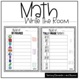 Math Write the Room