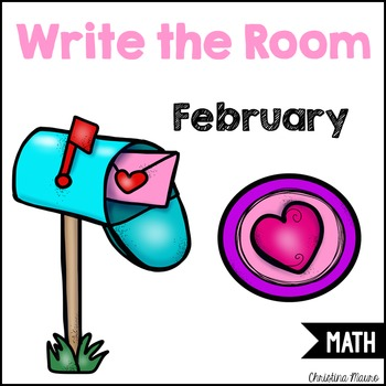 Write the Room - Math - February