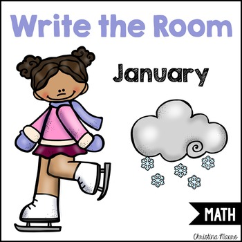 Write the Room - Math - January