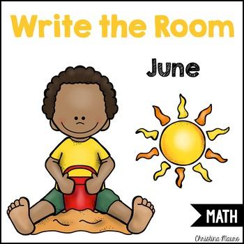 Write the Room - Math - June