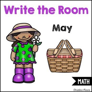 Write the Room - Math - May
