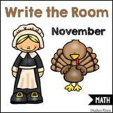 Write the Room - Math - November