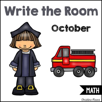 Write the Room - Math - October