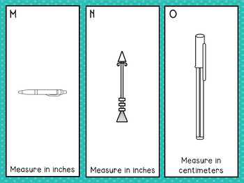 Write the Room: Measuring in inches and centimeters