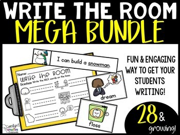 Write the Room Mega BUNDLE - Write the Room ALL Year [Growing Bundle]