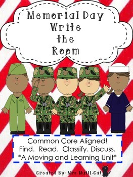 Write the Room Memorial Day