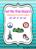 Write the Room - Missing AR, ER, IR, OR, UR r-Controlled