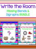 Write the Room - Missing Blends & Digraphs BUNDLE