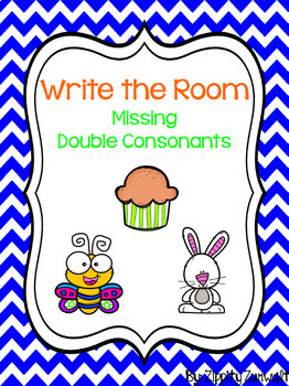 Write the Room - Missing Double Consonants
