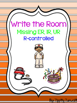 Write the Room - Missing ER, IR, UR r-Controlled