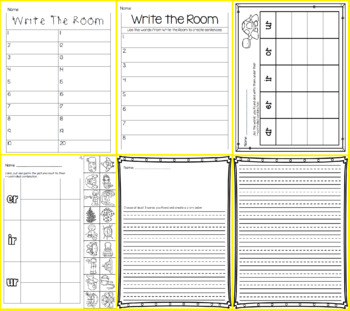 Write the Room - Missing R-Controlled BUNDLE