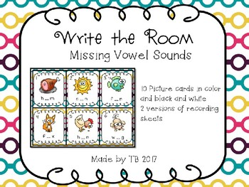 Write the Room Missing Vowels
