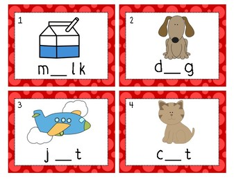 Write the Room- Missing Vowels