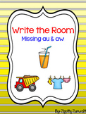 Write the Room - Missing aw & au Diphthong