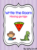 Write the Room - Missing -dge/-ge