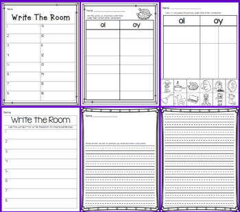 Write the Room - Missing oi & oy