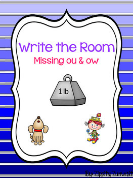 Write the Room - Missing ou & ow Diphthong