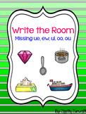 Write the Room - Missing ue, ew, ui, oo, ou  Diphthong
