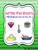 Write the Room - Missing ue, ew, ui, oo, ou  Diphthong