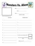 Write the Room Monsters Vs. Aliens