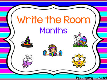 Write the Room - Months