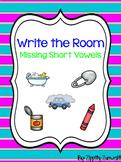 Write the Room - Missing Short Vowel CVC