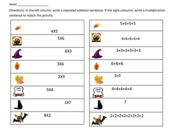 Write the Room: Multiplication
