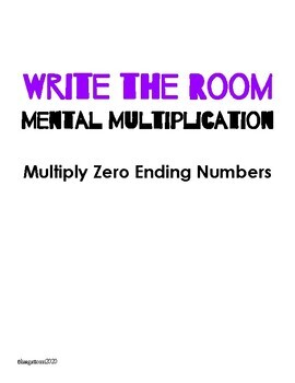 Write the Room - Multiply Zero Ending Numbers