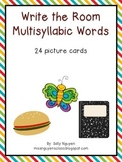 Write the Room Multisyllabic Words