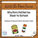 Write the Room Music: Back to School