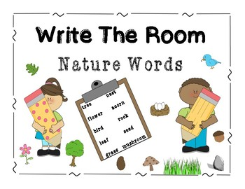 Write the Room Nature Words