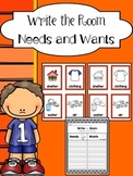 Needs and Wants Sort Write the Room