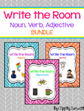 Write the Room - Noun, Verb, Adjective Bundle