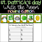 Write the Room Nouns St Patricks Day FREEBIE!
