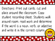 Write the Room: Nouns, Verbs, Adjectives