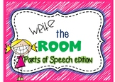 Write the Room Nouns, Verbs and Adjectives