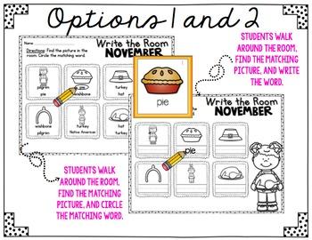 November Write The Room