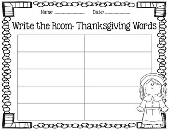 Write the Room- November