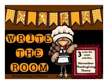 Write the Room (November/ Thanksgiving)