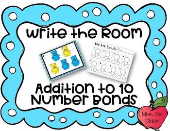 Write the Room Number Bonds Task Cards