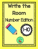 Write the Room - Numbers 1-10