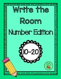Write the Room - Numbers 10 - 20