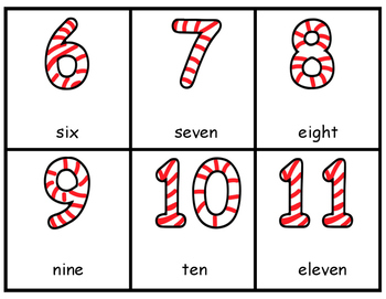 Write the Room-Candy Cane Numbers
