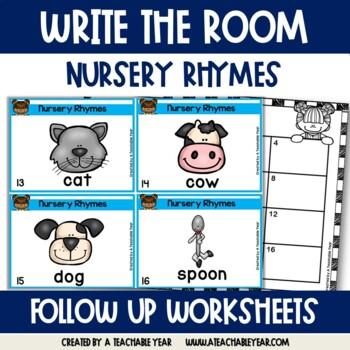 Write the Room- Nursery Rhymes