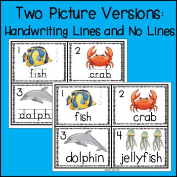Write the Room Ocean Animals