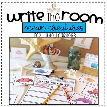 Write the Room: Ocean Creatures for Little Learners