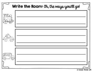 Write the Room: Oh, The Ways You'll Go!