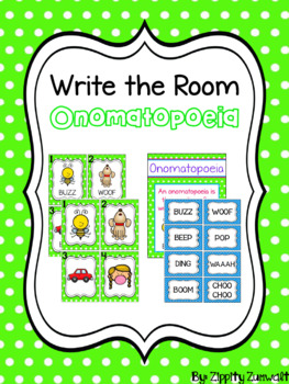 Write the Room - Onomatopoeia