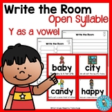 Write the Room Open Syllable Y as a Vowel